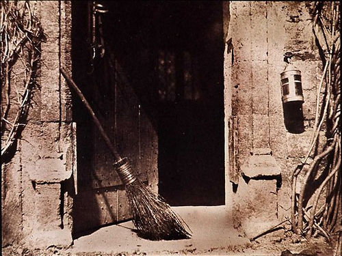 Otwarte drzwi, W. H. F. Talbot, 1844 r.
